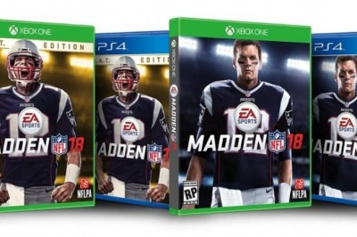 Tom Brady Honored on Cover of Madden 18