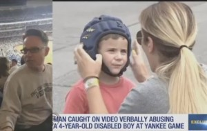 VIDEO: Disabled 4-year-old's mom speaks out after fan calls her son 'retarded' during Yankees game