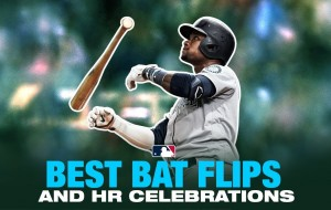 Best Bat Flips/Bat Drops from start of MLB season