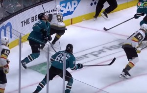 Logan Couture's Teeth Get Knocked Out From Marchessault's High Stick