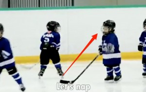 This Dad Mic'd Up His Four-Year-Old's Hockey Practice and It's So Darn Funny