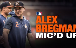 Alex Bregman Mic'd Up at Batting Practice