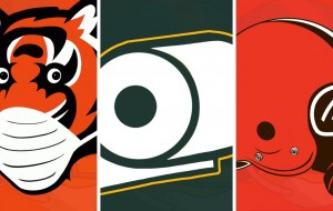 Cartoonist Creates Virus-Themed Logos For All 32 NFL Teams