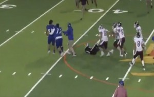 Texas high school football player charged with assault after tackling the referee