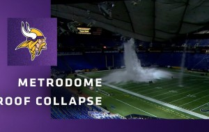 The Metrodome Roof Collapse: The Inside Story of One of the Most Bizarre Events in NFL History