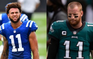 Colts WR Michael Pittman Refuses To Give Carson Wentz His #11 Jersey Number