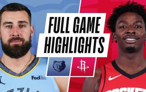 GRIZZLIES at ROCKETS | FULL GAME HIGHLIGHTS