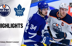 Oilers @ Maple Leafs 3/29/21 | NHL Highlights