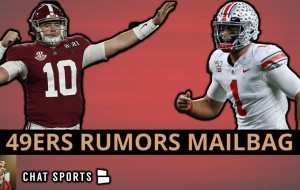 49ers Rumors Mailbag On Jimmy Garoppolo, Stephon Gilmore, Mac Jones, Creed Humphrey & Justin Fields