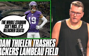 Pat McAfee Reacts To Adam Thielen Trashing On Packers' Lambeau Field